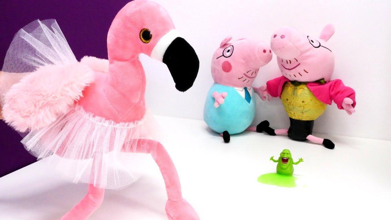 Свинка Пеппа — Видео игрушки — Пеппа и пришелец, часть 6 ...