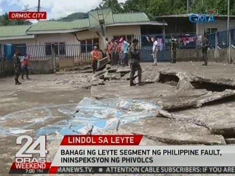 24 Oras: Bahagi ng Leyte Segment ng PHL Fault, ininspeksyon ng PHIVOLCS