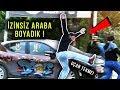 Sokaktaki Arabalara SPREY BOYA ŞAKASI - (Uçan Tekme Attı) ft. Doğukan Oraklı