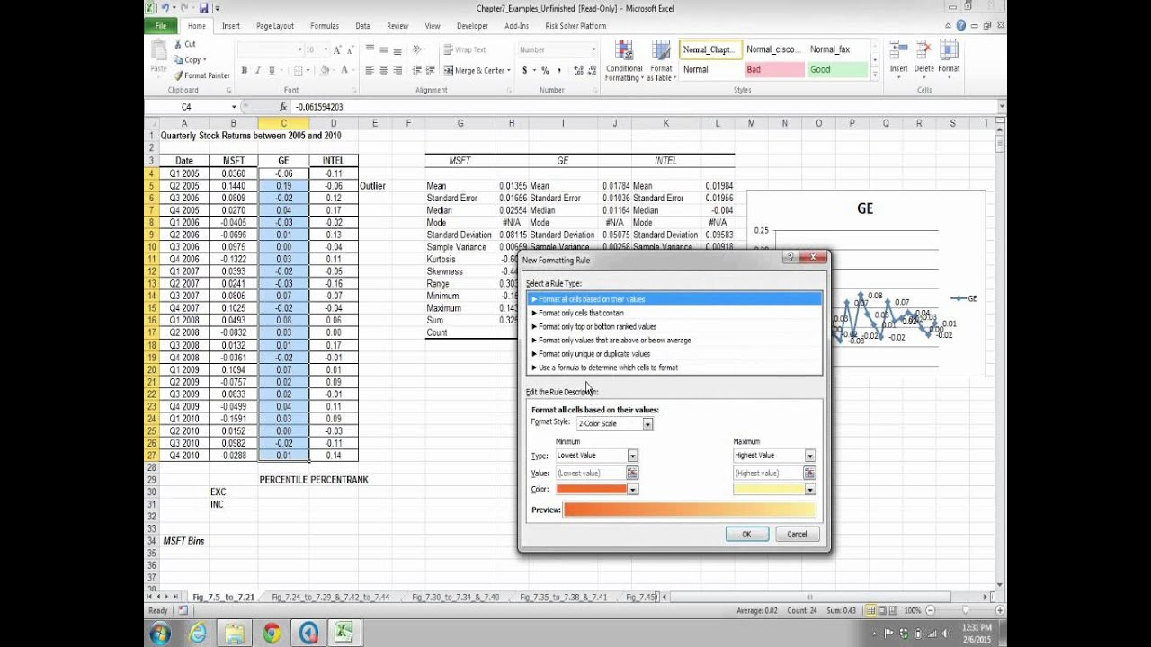 developing spreadsheet based decision support systems video fig 77 to 721