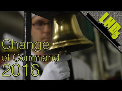USS Bataan Change of Command 2016