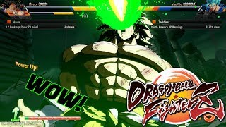 So This is Broly in Dragon Ball FighterZ..