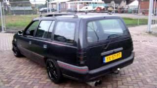 Opel kadett convertible and my black kadett caravan