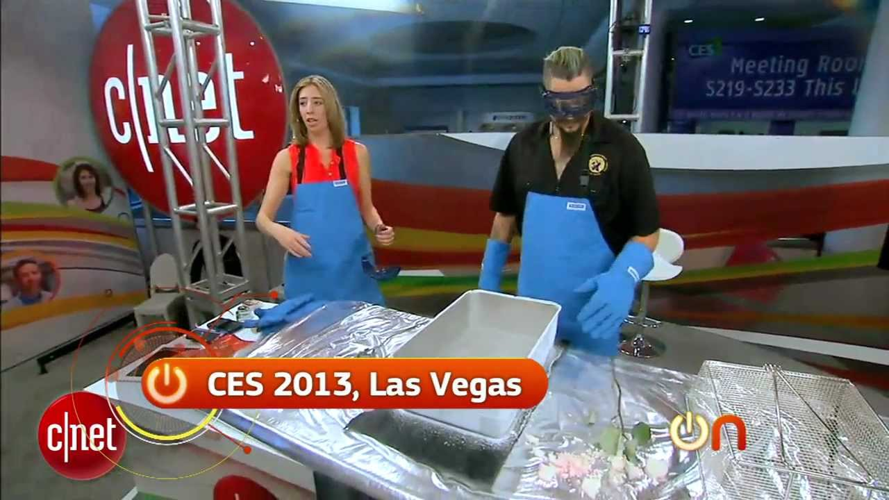 Always On - GoPro camera gets torture tested with liquid nitrogen at CES