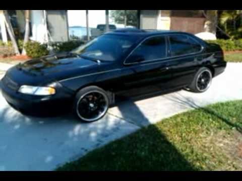 1998 Nissan Altima SE  YouTube