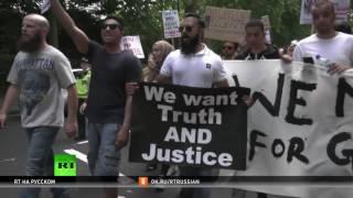 «День гнева»: в центре Лондона тысячи людей выступили против правительства Мэй