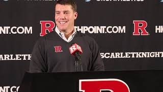 Rutgers Scarlet Knights Football - Chris Ash talks 2019 Early National Signing Day