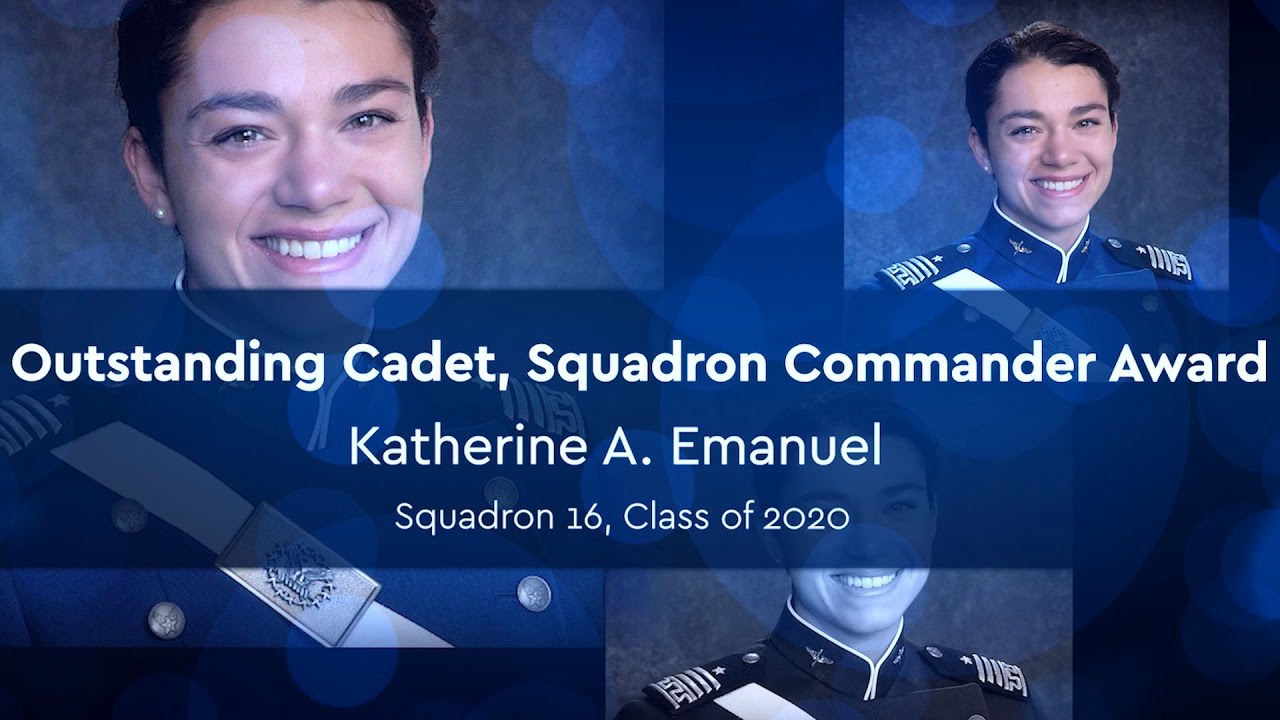 2020 Cadet Military Awards Winners
