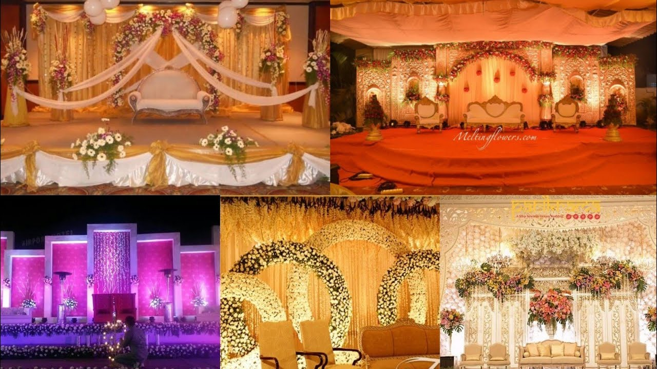 60 Attractive Wedding Decoration Ideas Mehndi Stage