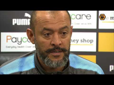 Nuno Espírito Santo's press conference ahead of Saturday's clash with Cardiff City.