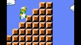 Super Mario Bros. Deluxe: Turn Things Into Blocks (cheat)
