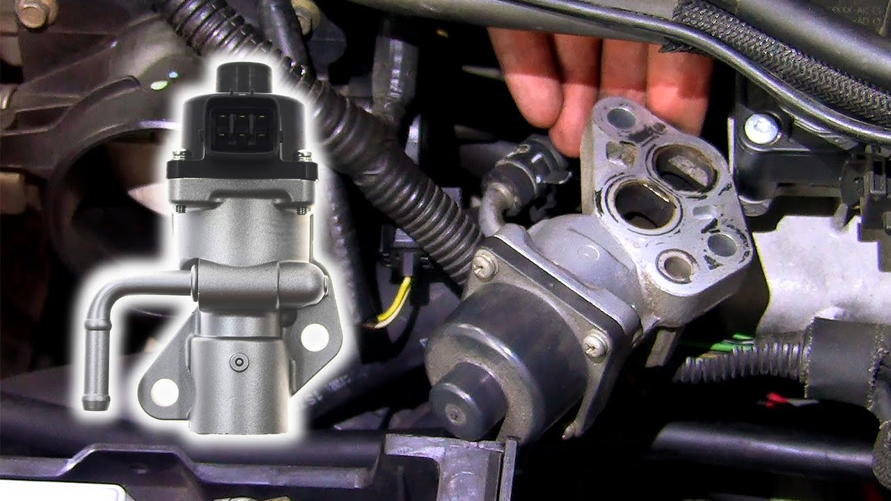 How to: Remove & inspect EGR valve Ford Duratec HE (Mondeo, Focus, Mazda)  YouTube