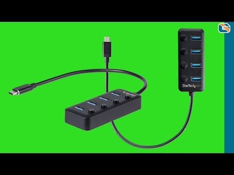 StarTech USB-C to USB-A Switched Hub Review