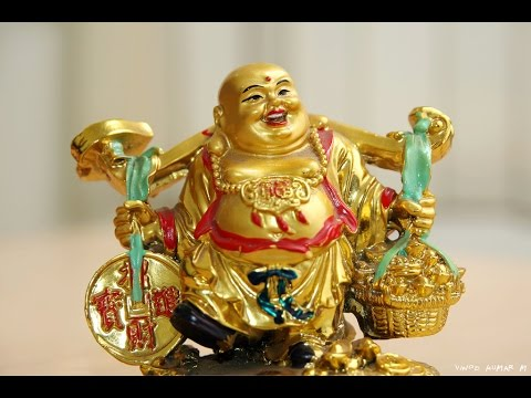 laughing buddha in bedroom