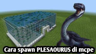 Cara spawn Plesiosaurus di mcpe