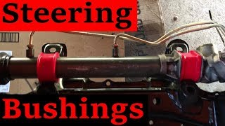 Steering Rack Bushing Replacement