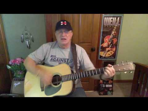 2119  - The Git Go -  Billy Joe Shaver vocal & acoustic guitar cover & chords