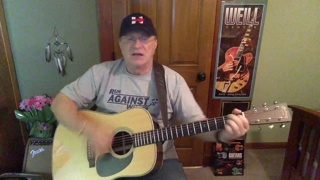 2119 The Git Go Billy Joe Shaver Vocal Acoustic Guitar Cover