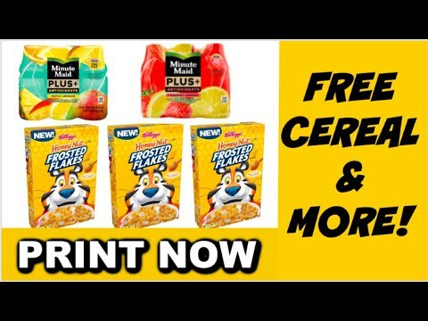 PRINT NOW | MONEYMAKER CEREAL & MORE | Savvy Coupon Shopper
