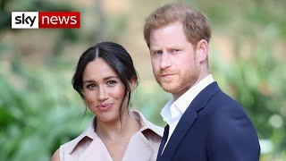 Harry and Meghan sue over 'drone photos'