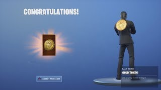 *UNLOCKING* The FREE Fortnite REWARDS 'GOLD TOKEN' After A VICTORY ROYALE On NEW Game Mode
