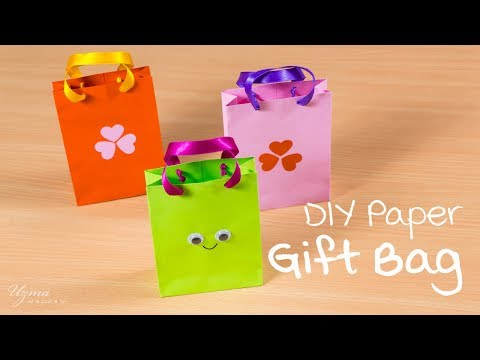 DIY Paper Gift Bag | Cute and easy | Paper craft