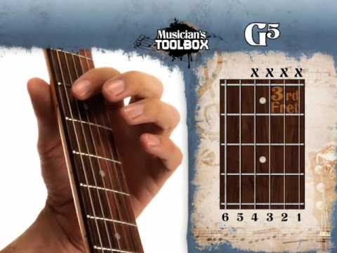 How To Play The G Power Chord On Guitar G5 Youtube