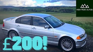I BOUGHT A BMW E46 FOR £200!