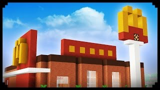 ✔ Minecraft: How to make a McDonald's