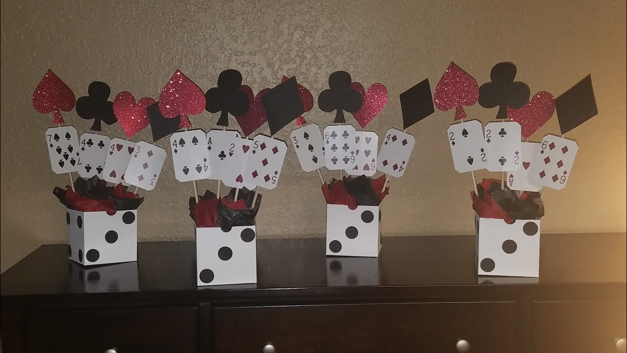 Casino Centerpieces Ideas