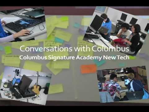 Conversations with Columbus: Columbus Signature Academy New Tech