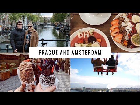 PRAGUE AND AMSTERDAM  COUPLES TRAVEL VLOG