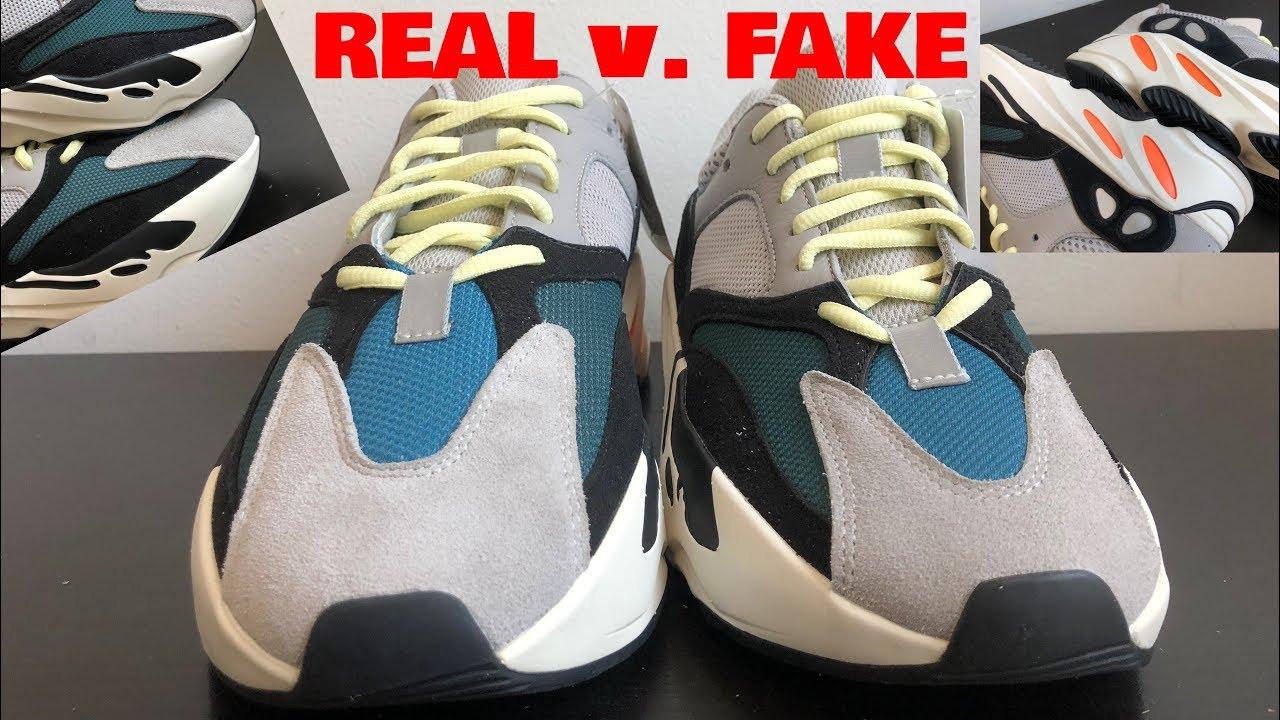 Authentic VS Fake Adidas Yeezy 700 Wave Runner | Yeezy