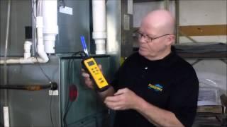 sdp2 dual in duct psychrometer target delta t and target evaporator exit temperature