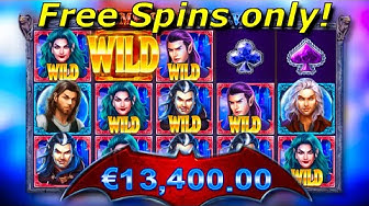 x434 win / Vampires vs Wolves - Vampires free spins only compilation! #3