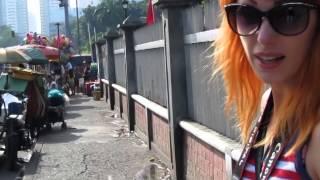 Гид онлайн - Уличный траффик в Маниле (Филиппины)
