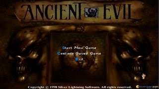 Ancient Evil gameplay (PC Game, 1998)