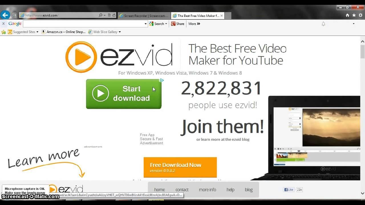 ezvid video editor free download