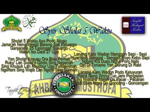 Teks Syiir Sholat 5 Waktu Habib Syech Feat Gus Wahid Ahbaabul Musthofa Mp3
