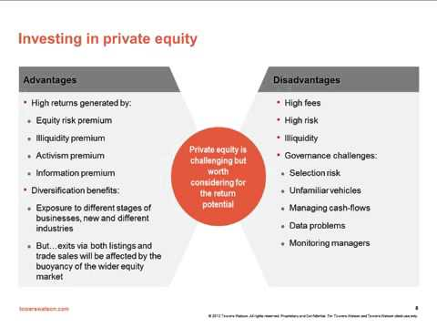 An Introduction to Investing in Private Equity - Towers Watson