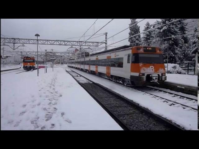 Ripoll sota la neu - Gener 2017