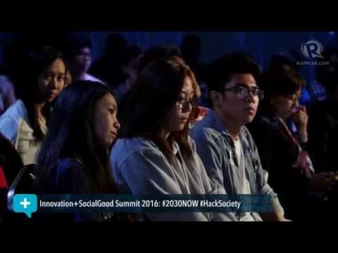 Social Good Summit 2016: Joey Salceda talks about 'Dutertenomics'