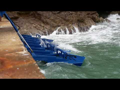 Eco Wave Power: Wavy day in Gibraltar May 2018