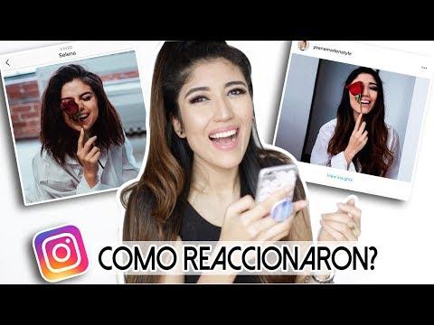 COPIE el Instagram de SELENA GOMEZ (Mira lo que paso!)