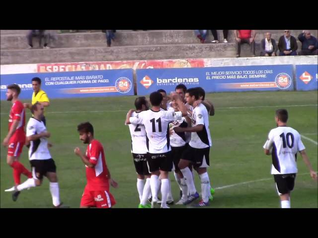 Vídeo Tudelano-Somozas (2-1)