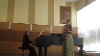 Полина Куликова - Г.Персел ария Дидоны из оперы