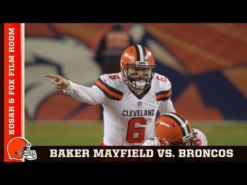 Film Room: Baker Mayfield's Leadership in Week 15 Victory Over Broncos | Browns All Access