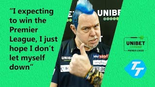 Peter Wright EXPECTING to win the Premier League? | PLUS adapting to life as World Champ
