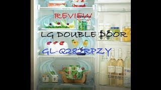 LG double door 255 L 3 Star REVIEW Inverter Compressor | Feature and User Review (Hindi) UNDER 22K