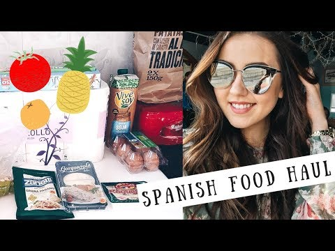 Come Grocery Shopping With Me In Spain ☀️ HUGE & INEXPENSIVE FOOD HAUL